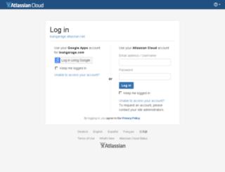 loangarage.atlassian.net screenshot