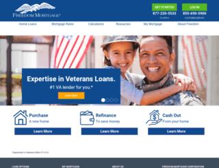 loanlink.freedomloanservices.com screenshot
