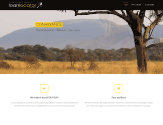 loanlocatorsa.co.za screenshot