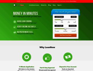 loannow.com screenshot