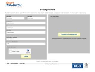 loans.desertschools.org screenshot