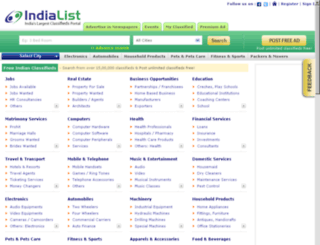 loans.indialist.com screenshot