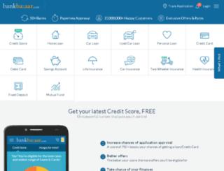 loans.msn.bankbazaar.com screenshot