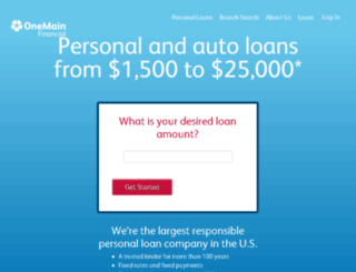 loans.springleaffinancial.com screenshot