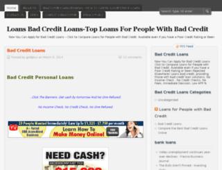 loansbadcreditloans.org screenshot