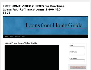 loansfromhomeguide.com screenshot