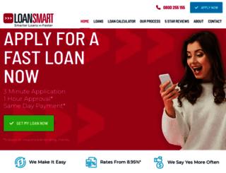 loansmart.co.nz screenshot