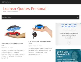 loansnquotespersonal.tk screenshot