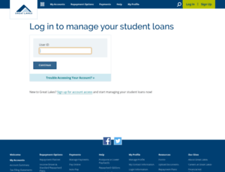 loansolutions.usafunds.org screenshot