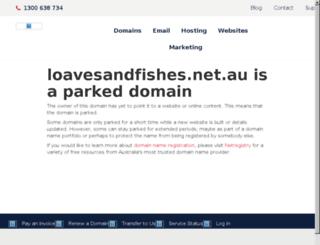 loavesandfishes.net.au screenshot