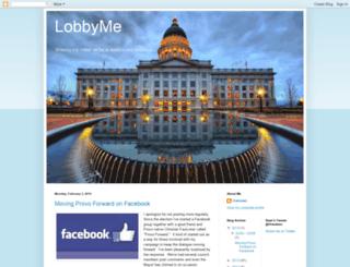 lobbyme.blogspot.com screenshot
