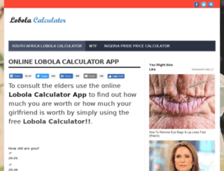 lobola.net screenshot