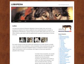lobopedia.es screenshot