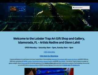 lobstertrapart.com screenshot