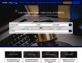 local-attorneys.com screenshot