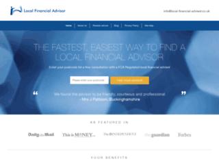 local-financial-advisor.co.uk screenshot
