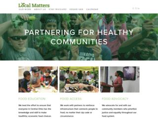 local-matters.org screenshot