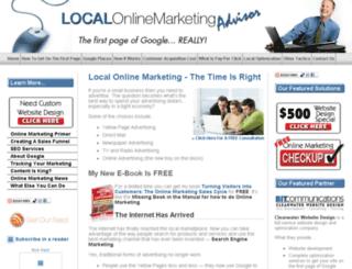 local-online-marketing-advisor.com screenshot