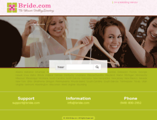local.bride.com screenshot