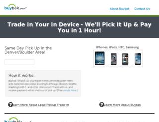 local.buybak.com screenshot