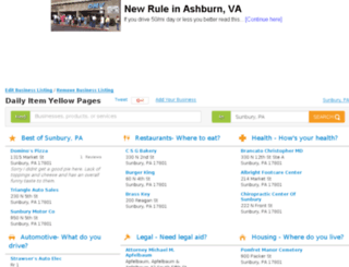 local.dailyitem.com screenshot