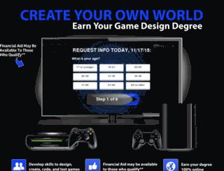 local.game-designschool.com screenshot