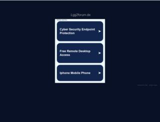 local.lgg2forum.de screenshot