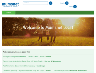 local.mumsnet.com screenshot