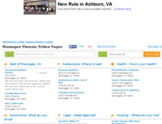 local.muskogeephoenix.com screenshot