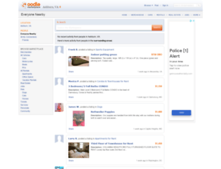 local.oodle.com screenshot