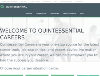 local.quintcareers.com screenshot