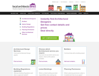 localarchitectsdirect.co.uk screenshot