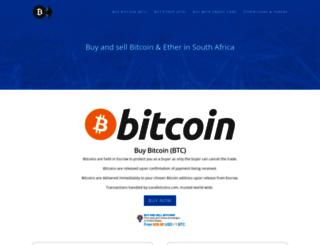 localbitcoins.co.za screenshot