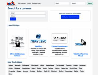 localbusinessguide.com.au screenshot
