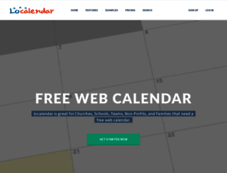 localendar.com screenshot
