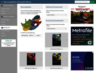 localgovernment.co.za screenshot