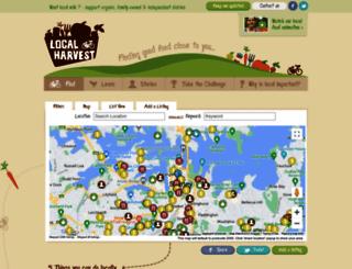 localharvest.org.au screenshot