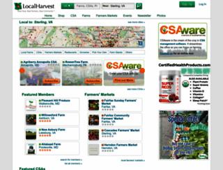 localharvest.org screenshot