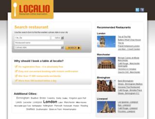 localio.co.uk screenshot