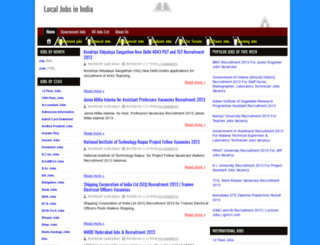 localjobsinindia.blogspot.in screenshot