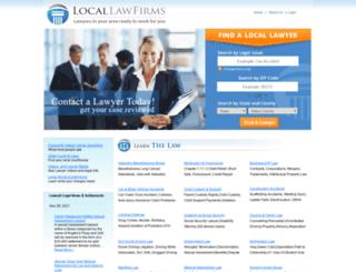 locallawfirms.com screenshot