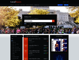 localraces.com screenshot