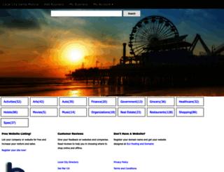 localsantamonicadirectory.com screenshot