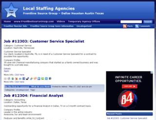 localstaffingagencies.com screenshot