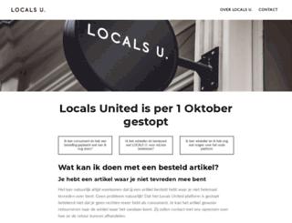 localsunited.nl screenshot