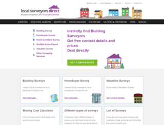 localsurveyorsdirect.co.uk screenshot