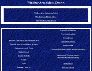 localweb.windberschools.org screenshot