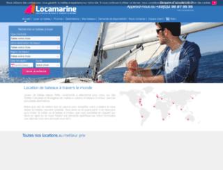 locamarine.fr screenshot