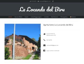 locandadelbiru.com screenshot