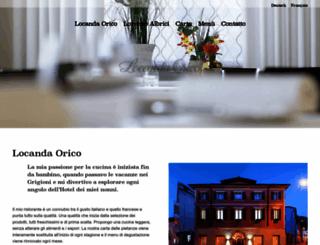 locandaorico.ch screenshot